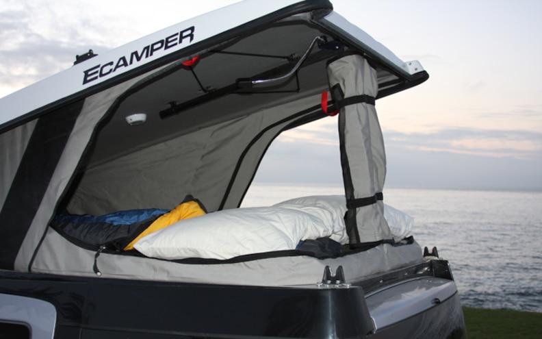 honda Element Camper open Side