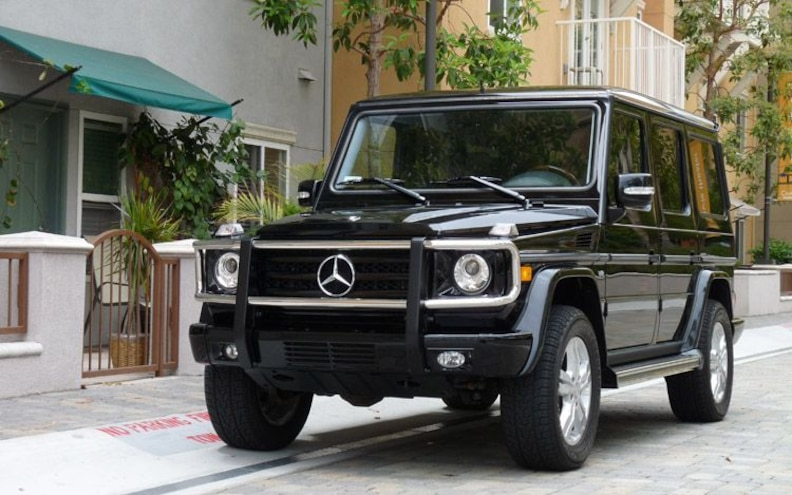 First Drive: 2009 Mercedes-Benz G550