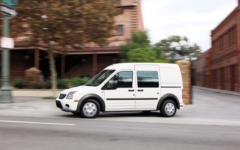 2010 Ford Transit Connect side
