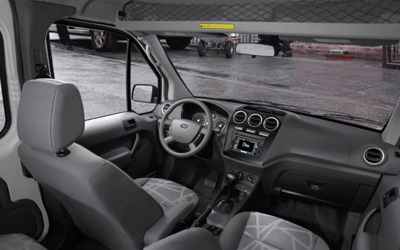 2010 Ford Transit Connect interior