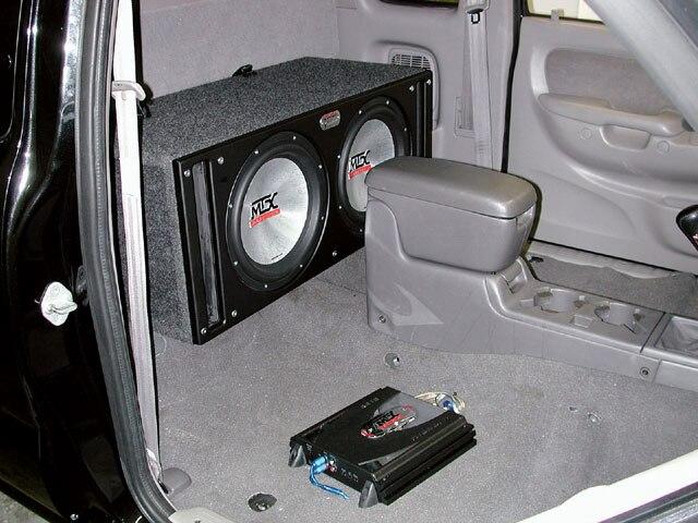 MTX Audio Sledgehammer Box - Car Audio - Subwoofer - Sport