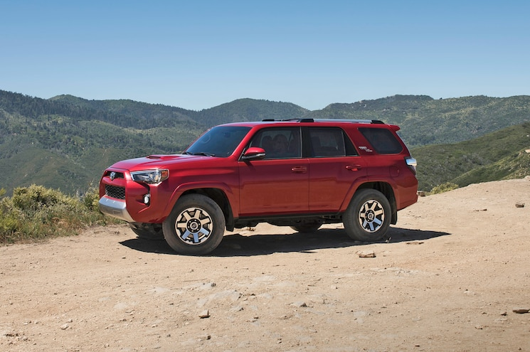 Toyota Reveals 2017 4Runner in TRD Off-Road Trim