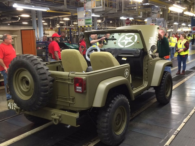 Salute Jeep Wrangler Concept Assembly
