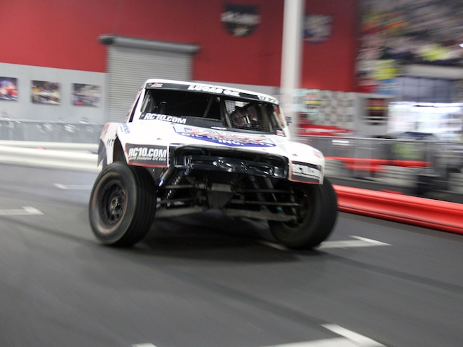 Carl Renezeder Rips Around K1 Speed With His Short Course Truck – Video