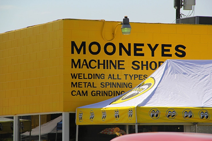 002 Mooneyes Open House Machine Shop