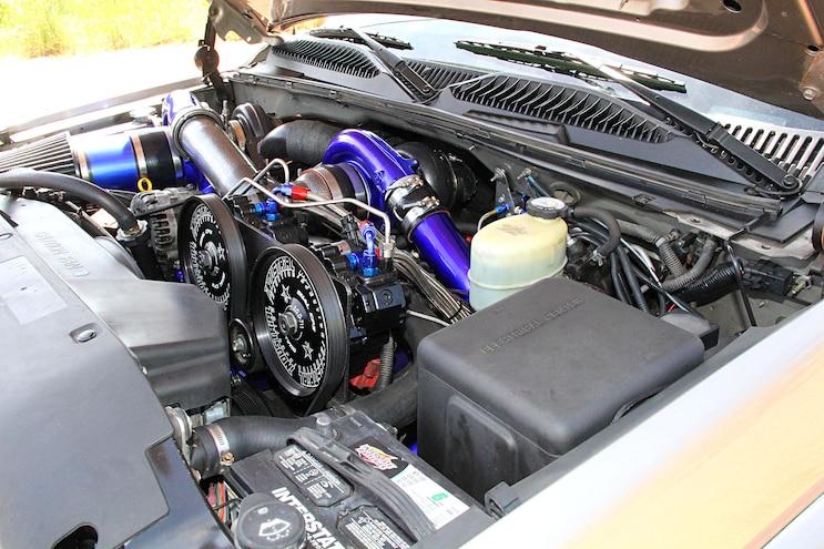 2001 Gmc Sierra Engine