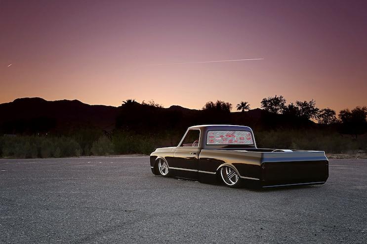 1969 Chevy C10 Front Quarter View
