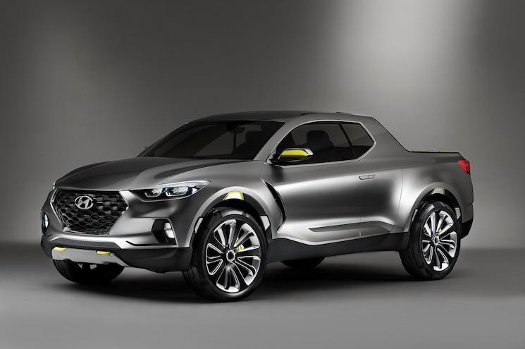 2015 Hyundai Santa Cruz Front View