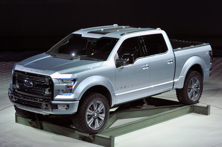 2013 Ford Atlas Front View