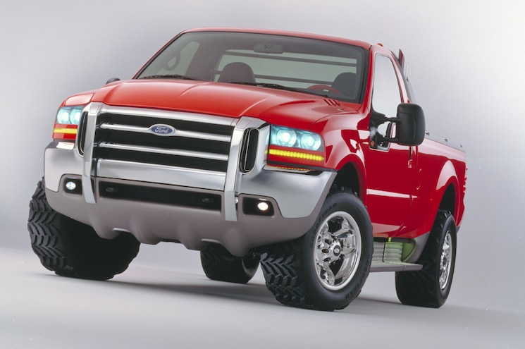 1997 Ford Power Force In Red