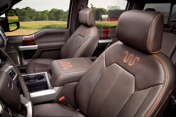 2017 Ford Super Duty King Ranch Interior