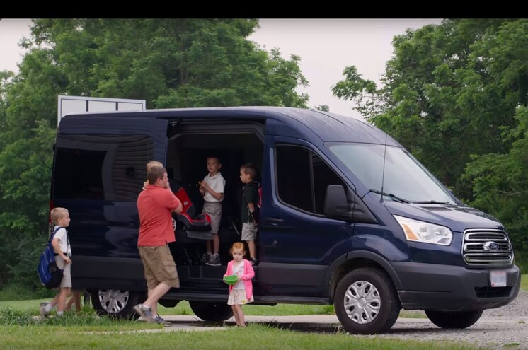 Video: Family Ditches Minivan for Fullsize Ford Transit