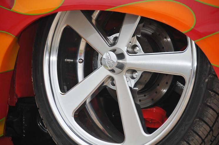 1989 Chevy S10 Blazer With Custom Flame Paint Wheel