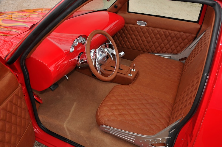 1989 Chevy S10 Blazer With Custom Flame Paint Interior