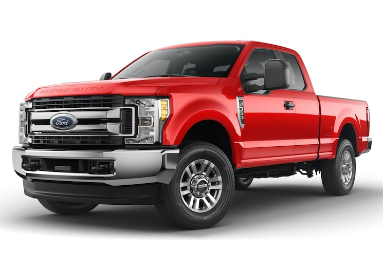 2017 Ford F 350 Super Duty Stx Front Angle