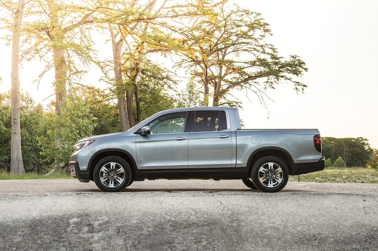 2017 Honda Ridgeline First Drive Side View