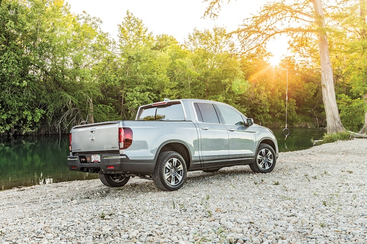 2017 Honda Ridgeline First Drive Rear Quarter