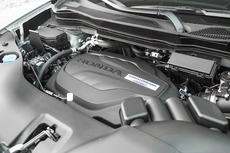 2017 Honda Ridgeline First Drive Engine
