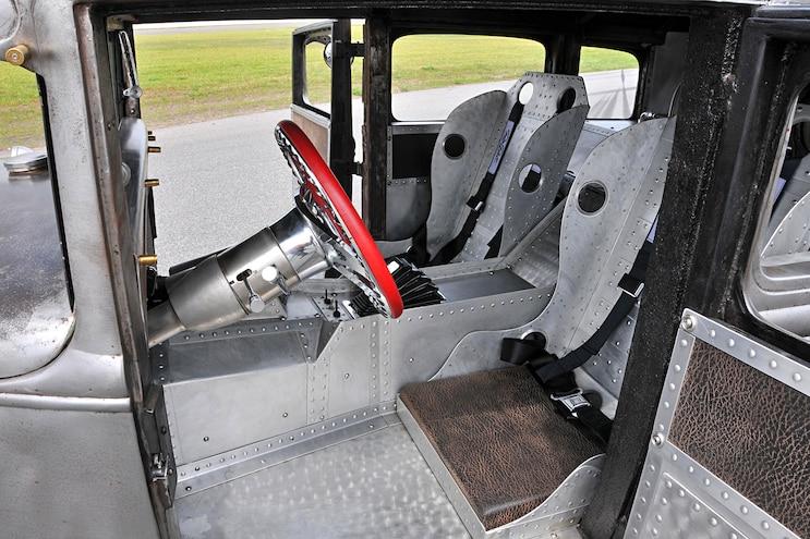 1931 Ford Fordor Diesel Rat Rod Interior
