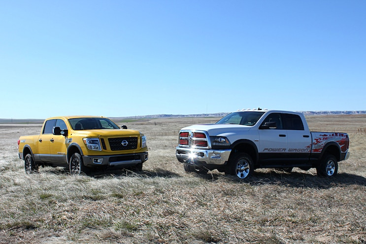 Could The 2016 Nissan Titan XD PRO-4X Be A Ram Power Wagon Competitor?