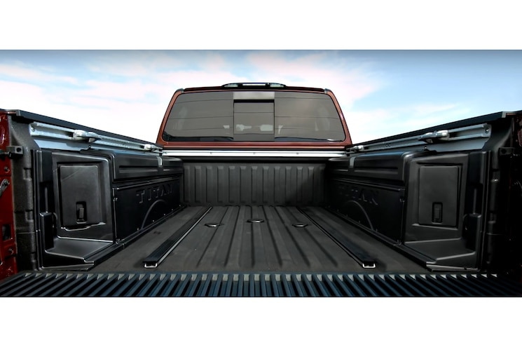 2016 Nissan Titan Xd Gas Bed