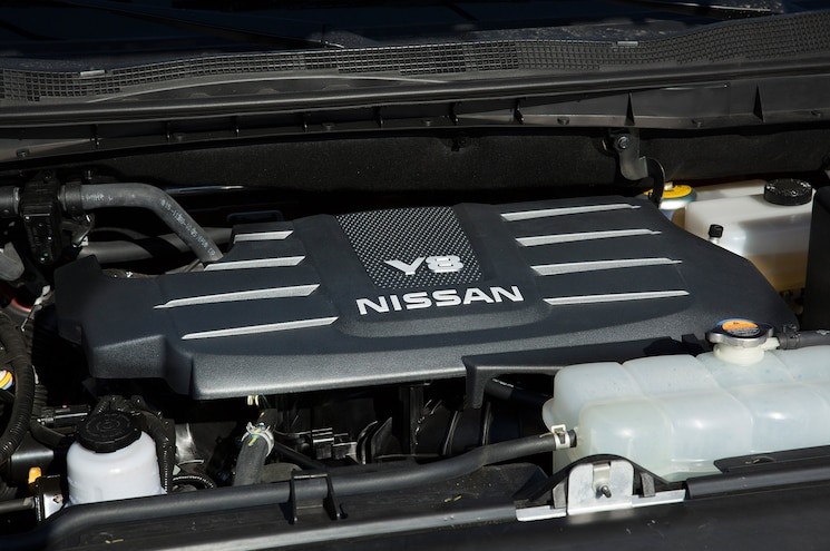 2016 Nissan Titan Xd Gas Engine