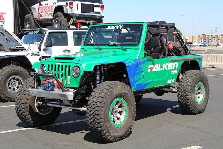 Nitto Auto Enthusiast Day Faulken Jeep