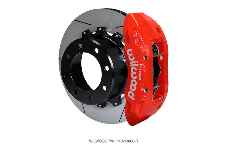 Red Calipers From Wilwood