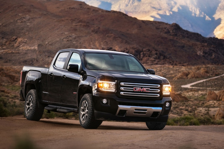 2017 GMC Canyon Gets New V-6, Eight-Speed Transmission
