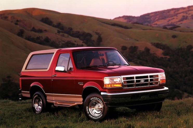 019 1996 Bronco Eddie Bauer