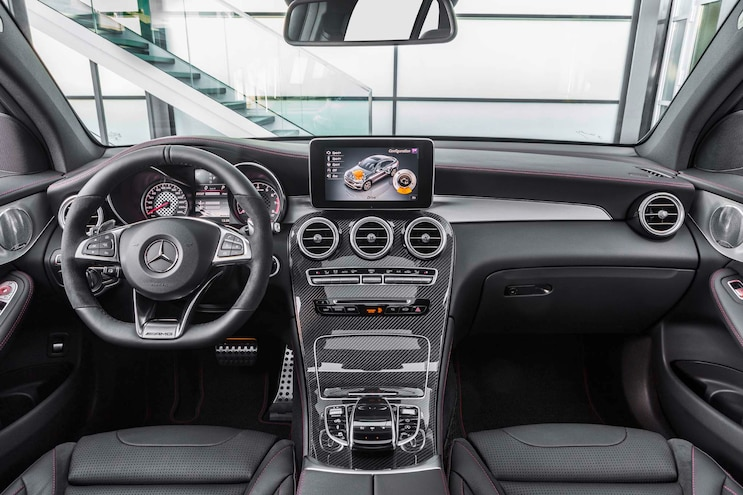 2017 Mercedes AMG GLC43 Coupe Interior