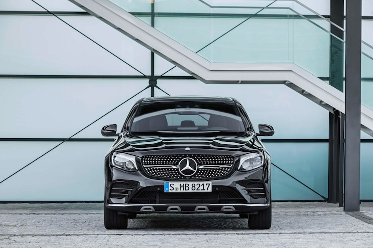 2017 Mercedes AMG GLC43 Coupe Front End
