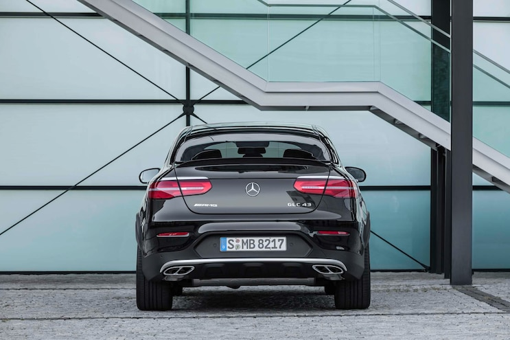 2017 Mercedes AMG GLC43 Coupe Rear End