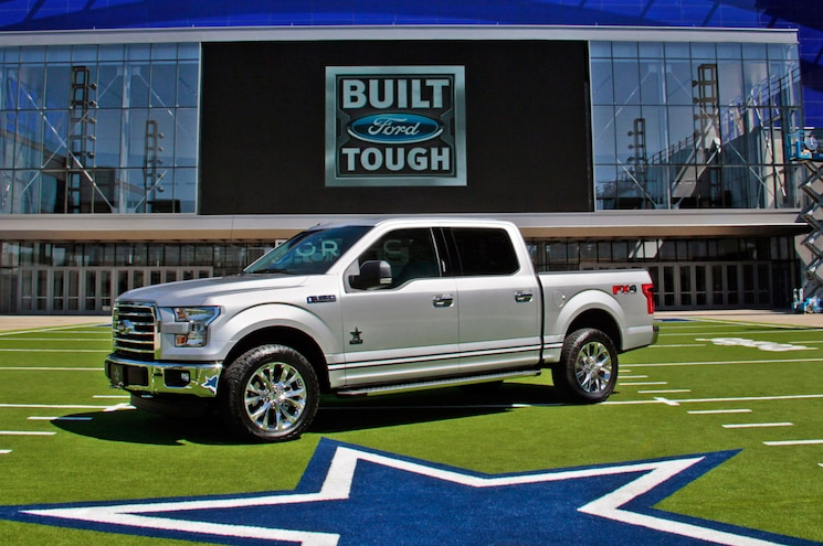 Ford Releases Limited-Edition Dallas Cowboys F-150