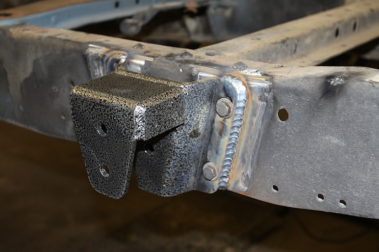 1967 Ford F 100 Project Speed Bump Chassis Welding Hangers