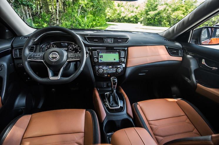 2017 Nissan Rogue Sl Interior Dashboard