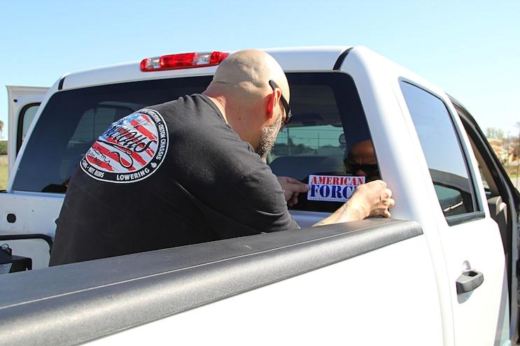 2012 Gmc 3500 Hd Sierra Lowering Sticker
