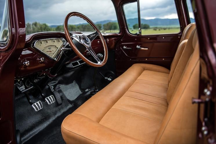 1957 Chevrolet Task Force Napco Legacy Classic Trucks Dashboard