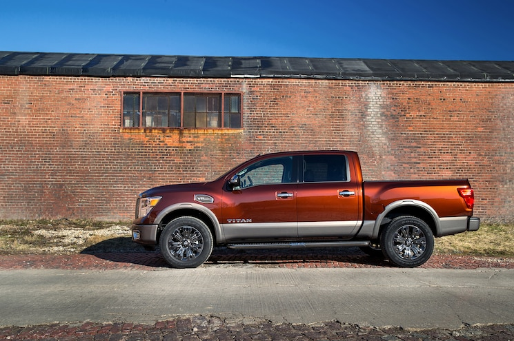 2017 Nissan Titan Half Ton First Drive Review Side View