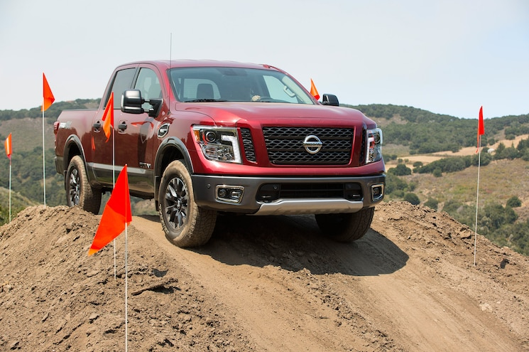 2017 Nissan Titan Half Ton First Drive Review Over Hill