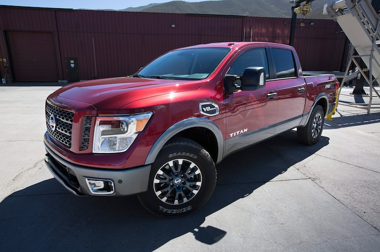 2017 Nissan Titan Half Ton First Drive Review Front Quarter