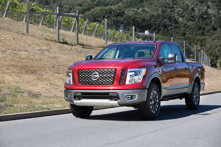 2017 Nissan Titan Half Ton First Drive Review Driving