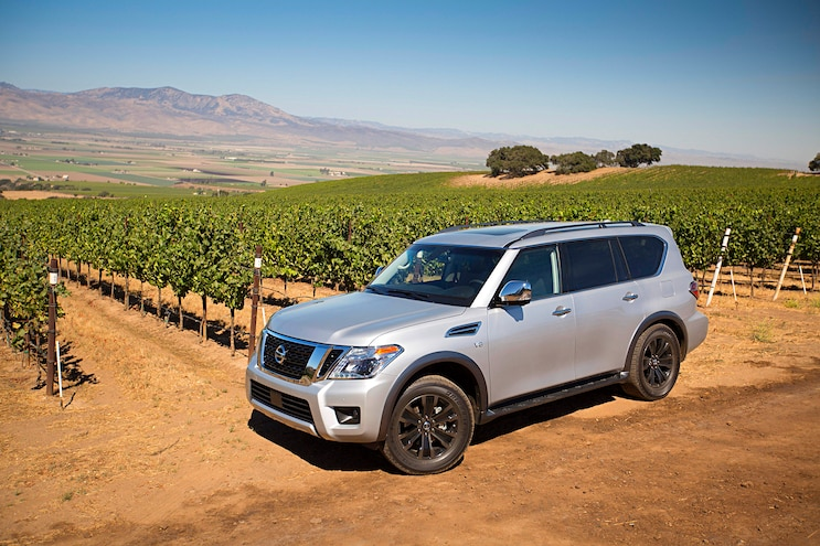 2017 Nissan Armada First Drive Review Vineyard