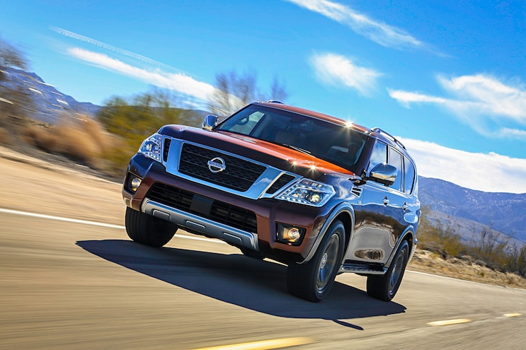 2017 Nissan Armada First Drive Review On The Road