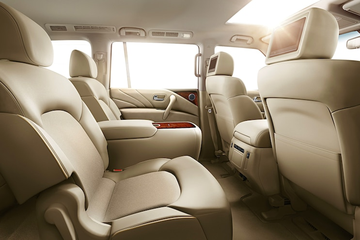 2017 Nissan Armada First Drive Review Interior