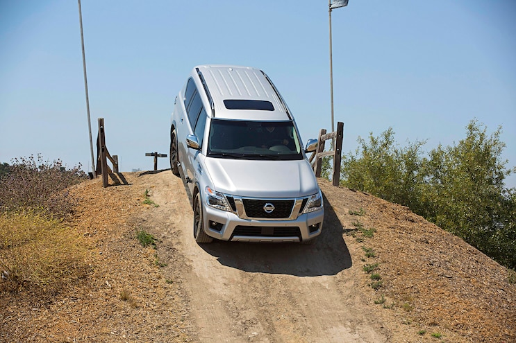 2017 Nissan Armada First Drive Review Down The Hill