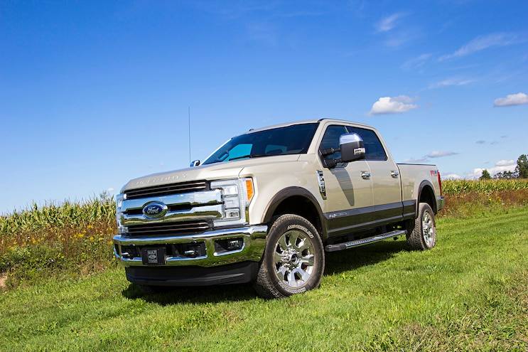 2017 Ford Super Duty F 250 King Ranch Fx4 Front