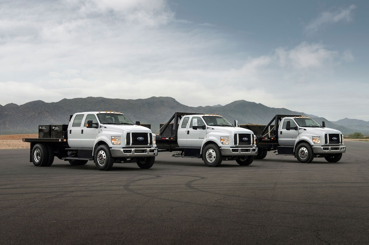 2017 Ford F 650 750 Lineup