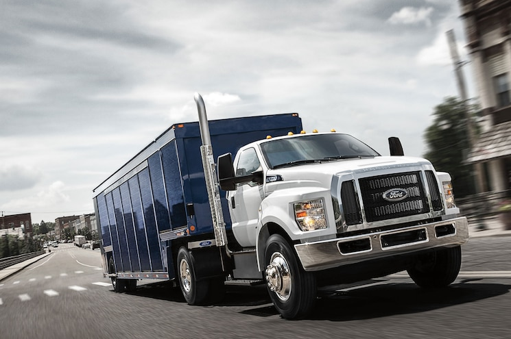 2017 Ford F 750 Tractor Trailer