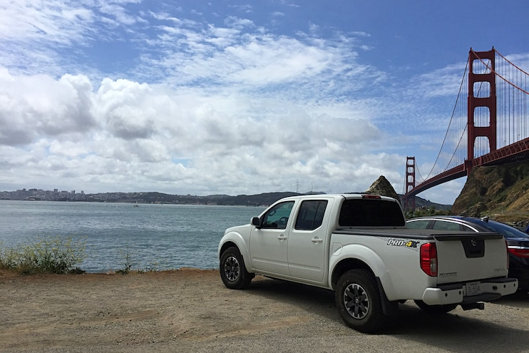 2016 Nissan Frontier Long Term Review Rear